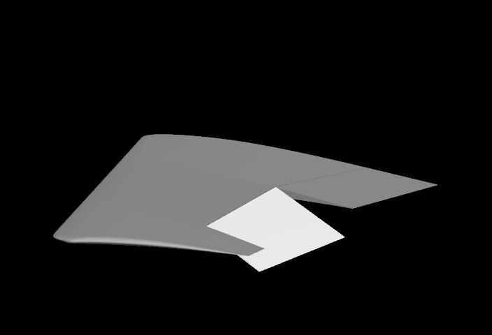Wing Aileron Flap Configuration.